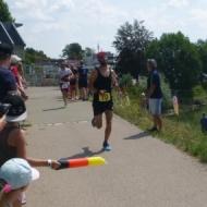 Marcus Demmler ist Schnellster auf der Laufstrecke