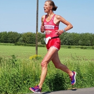 Helen Dyke ran the fastest time