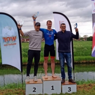 Podium men: Tomas Svoboda, William Peters and Ferenc Csima
