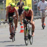 Lisa Teichert even faster in the water than her husband Stefan