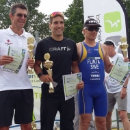 Podium men: Ferenc Cisma, Tomáš Svoboda and Martin Flinta