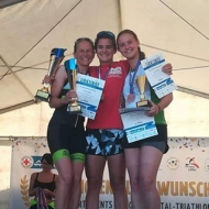 Top 3 women: Trilling, Teichert and Eberhardt