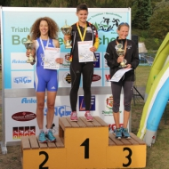 Podium: Russel, Teichert and Trilling