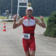 Happy with third place Krzysztof Wolski