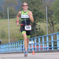 With fast legs to the vice championship: Anke Trilling
