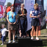 Women's overall - 1st Natalie Abbott, 2nd Jean Ashley, 3rd Jacqueline Davies