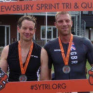 James Block & Bryce Dyer - a good race for 2nd and 3rd