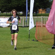 Helen Russel is dominated the womens race