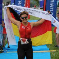 Once again at the top: Lisa Teichert