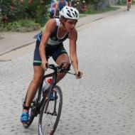 Caludia Kreuzberg mit schneller Radzeit