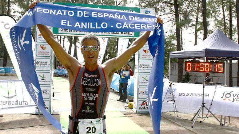 Albero Cebollada (ESP) at Quadrathlon in El Anillo (ESP) 2016 (c) Jairo Pozo