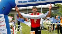 Miroslav Podborsky (CZE) at Quadrathlon Týn nad Vltavou (CZE) 2014 (c) canoemar.cz