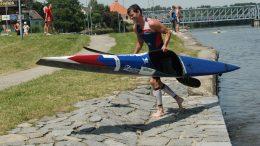 Michal Hasa (CZE) at Quadrathlon Týn nad Vltavou (CZE) 2012 (c) canoemar.cz