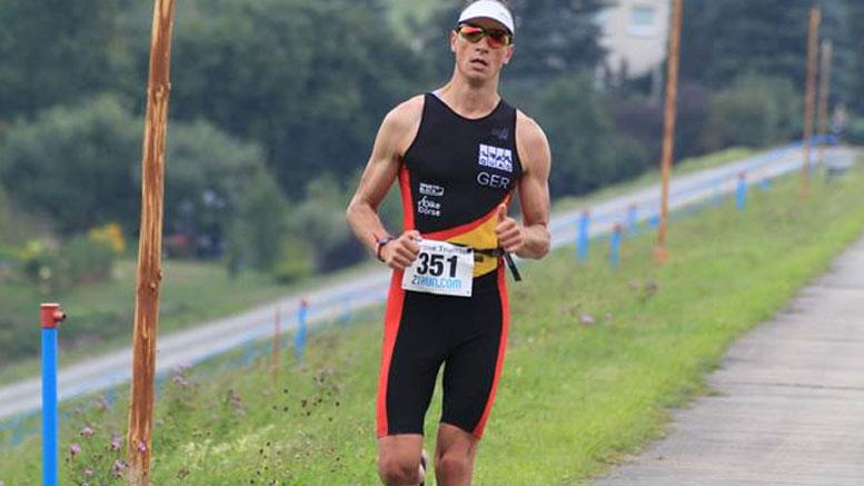 Stefan Teichert (GER) at Bergsee Quadrathlon Ratscher (GER) 2013 (c) J. Kastner