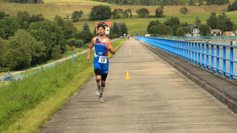 Michal Hasa (CZE) at Bergsee Quadrathlon Ratscher (GER) 2012 (c) TC Suhl