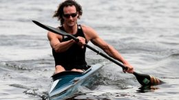 Thoralf Berg (GER) at Quadrathlon Wassersuppe (GER) 2016 (c) Simone Weber
