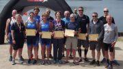 Winners at Dearne Valley Quadrathlon (GBR) 2018 (c) BQA