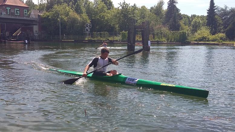 Jens Wintermayr (GER) at Quadrathlon Hannover (GER) 2019 (c) L. Teichert