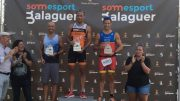 Jorge Garcia, Miguel Angel, Enrique Peces (all ESP) at Quadrathlon Balaguer (ESP) 2019 (c) E. Peces