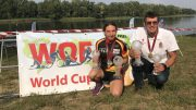 WQF World Cup winner (2019) Susanne Walter (GER) and Ferenc Cisma (HUN)