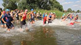 Start of the Quadrathlon Wassersuppe (GER) 2021 (c) L Rohde