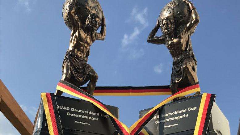 Pokale beim Deutscheland Cup (c) B. Scheller